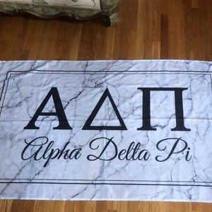 Marble Alpha Delta Pi flag